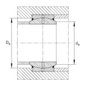 FAG Radial spherical plain bearings - GE60-DO