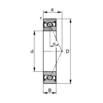 FAG Spindellager - HCS71903-E-T-P4S