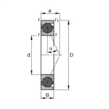 FAG Spindellager - HCB7203-E-T-P4S