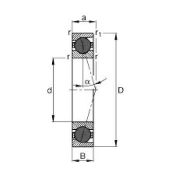 المحامل HCB7212-C-T-P4S FAG