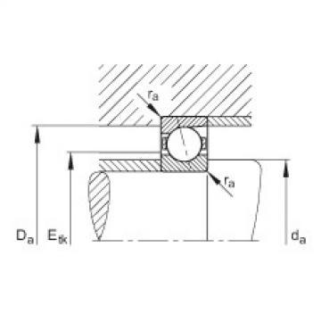 FAG Spindellager - B7220-C-T-P4S