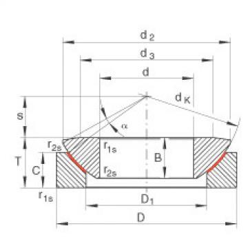FAG Axial spherical plain bearings - GE200-AW