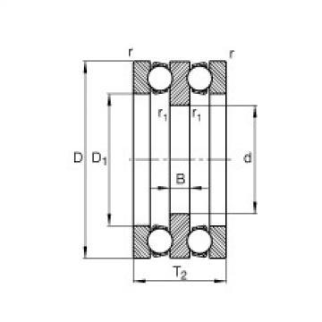 FAG Axial-Rillenkugellager - 52324-MP