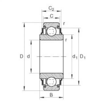 FAG Spannlager - 210-XL-KRR