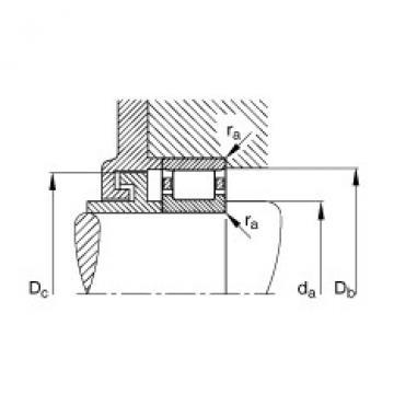 FAG Zylinderrollenlager - N320-E-XL-M1