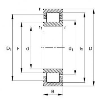 FAG Zylinderrollenlager - NJ320-E-XL-TVP2