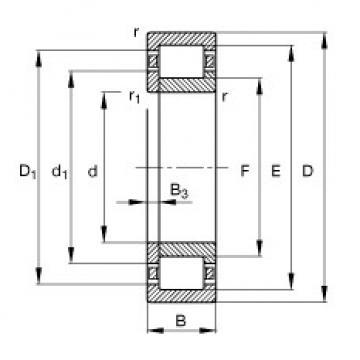 FAG محامل أسطوانية - NUP228-E-XL-M1