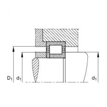 FAG محامل أسطوانية - NUP304-E-XL-TVP2