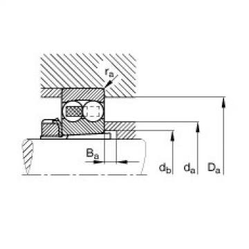 FAG Pendelkugellager - 1222-K-M-C3 + H222