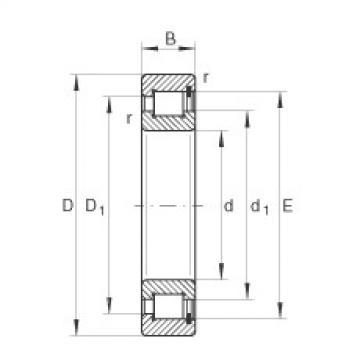 FAG Zylinderrollenlager - SL183018