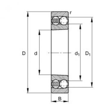 FAG Pendelkugellager - 1320-K-M-C3