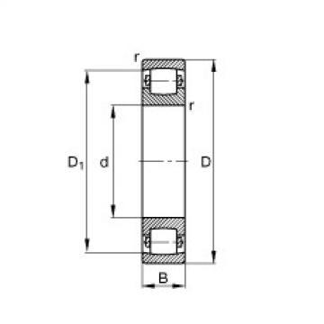 FAG Tonnenlager - 20320-MB