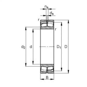 FAG Pendelrollenlager - 22220-E1-XL