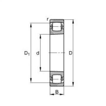 FAG Tonnenlager - 20320-K-MB-C3