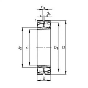 FAG Pendelrollenlager - 22220-E1-XL-K