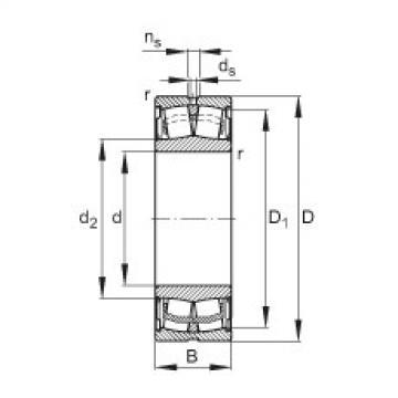 FAG Abgedichtete Pendelrollenlager - WS22220-E1-XL-2RSR