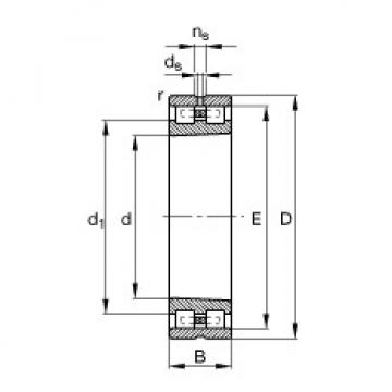 FAG محامل أسطوانية - NN3012-AS-K-M-SP