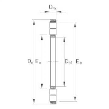 FAG Axial-Zylinderrollenkranz - K89420-M
