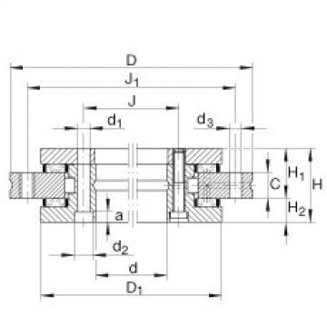 FAG Axial/radial bearings - YRT950