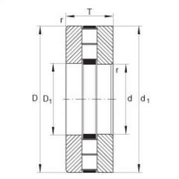 FAG Axial-Zylinderrollenlager - 89420-M