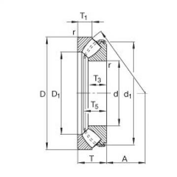 FAG Axial-Pendelrollenlager - 29420-E1-XL