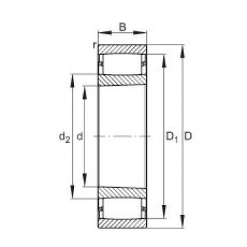 FAG Toroidalrollenlager - C2220-XL-K