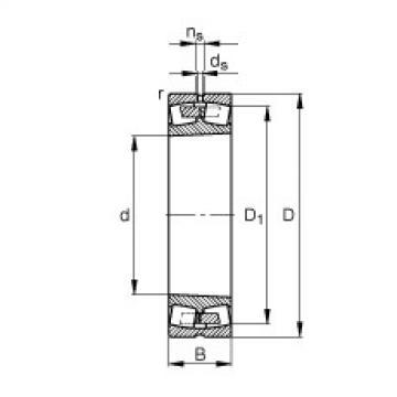 FAG Pendelrollenlager - 23220-E1A-XL-K-M
