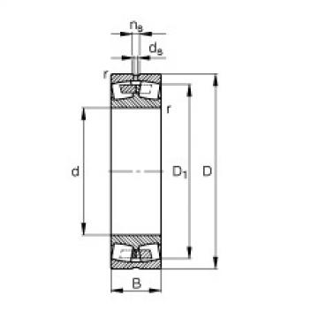 FAG Pendelrollenlager - 23220-E1A-XL-M