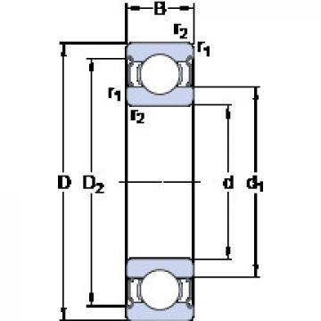 المحامل WBB1-8700-2Z SKF