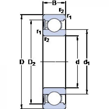 المحامل 6213-RS1 SKF