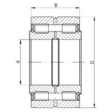 المحامل SL045052 ISO