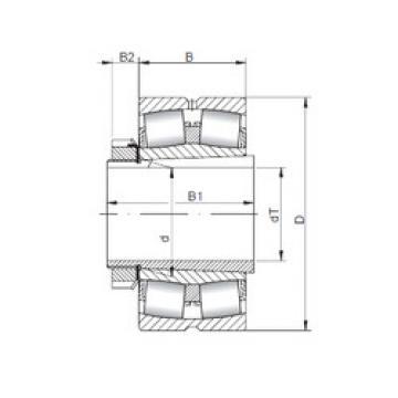المحامل 22240 KCW33+H3140 ISO