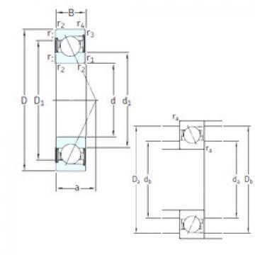 المحامل E 217 /S/NS /S 7CE1 SNFA