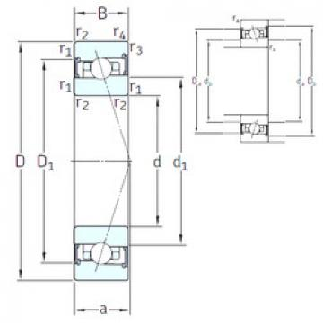 المحامل HB110 /S 7CE1 SNFA