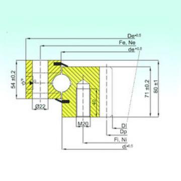 المحامل ZB1.25.1455.200-1SPTN ISB