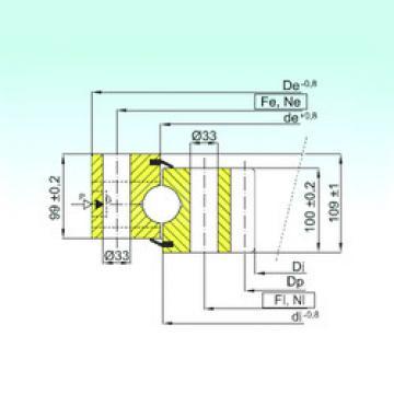 المحامل ZB1.50.2000.400-1SPPN ISB