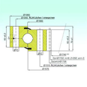 المحامل ZB1.28.1879.200-1SPPN ISB