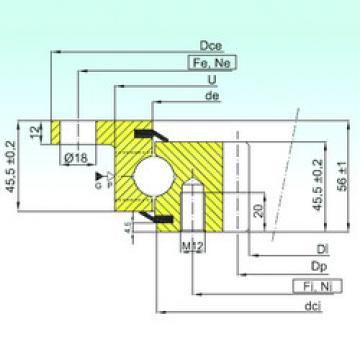 المحامل ZBL.20.0844.201-2SPTN ISB