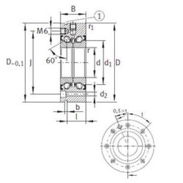 المحامل ZKLF90190-2Z INA