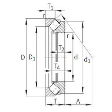 المحامل 29252-E1-MB INA
