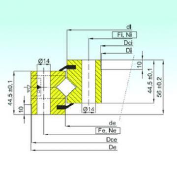 المحامل NR1.14.0644.200-1PPN ISB