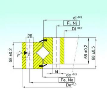المحامل NR1.16.1754.400-1PPN ISB