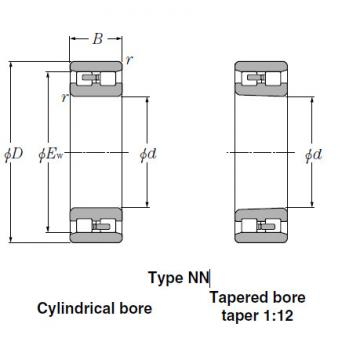 Bearings Cylindrical Roller Bearings NN3022