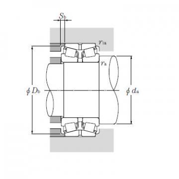 Bearing EE722110/722186D+A