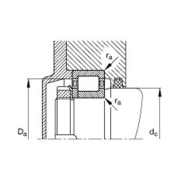FAG محامل أسطوانية - NUP304-E-XL-TVP2 #3 image