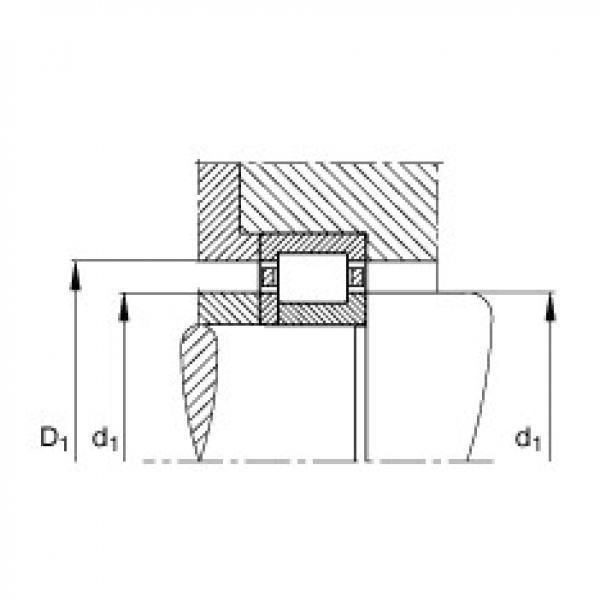 FAG محامل أسطوانية - NUP304-E-XL-TVP2 #2 image