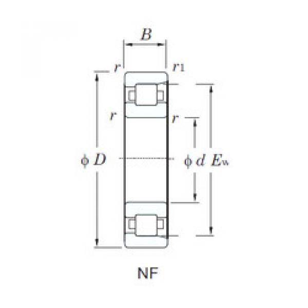 المحامل NF321 KOYO #1 image