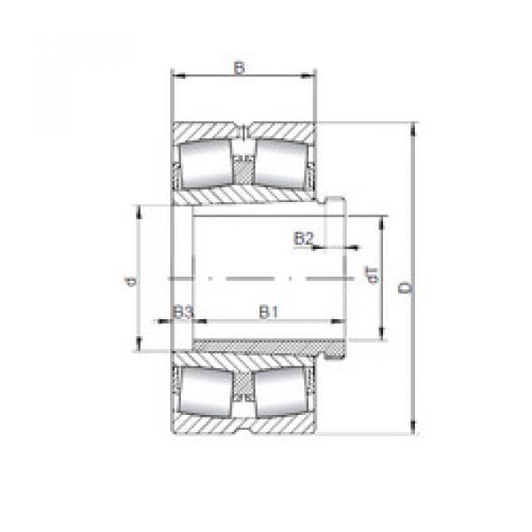 المحامل 22240 KCW33+AH2240 ISO #1 image