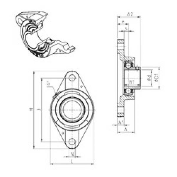 المحامل USFLE206 SNR #1 image