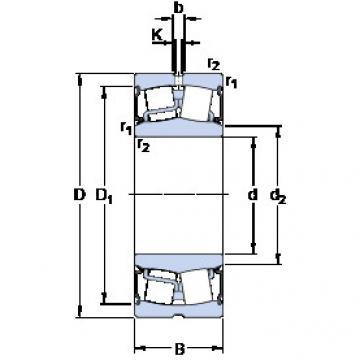 المحامل BS2-2224-2RS5/VT143 SKF